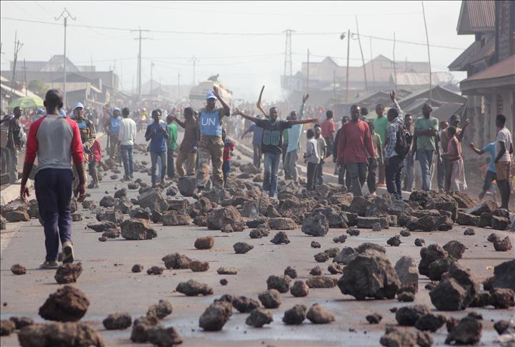 Calendrier électoral: Mouvement de colère ce matin à Goma