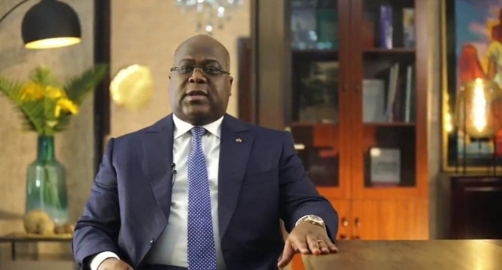 Félix Tshisekedi.